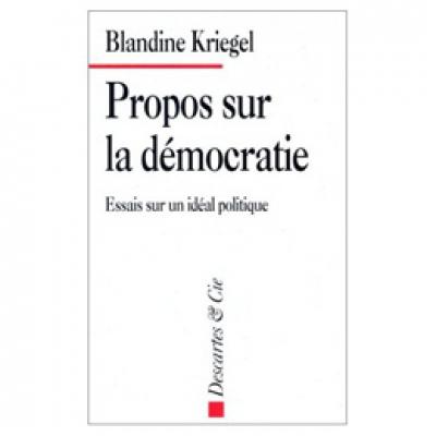 Propos sur la démocratie
